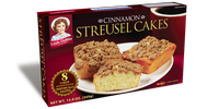 Little Debbie® Cinnamon Streusel Cakes