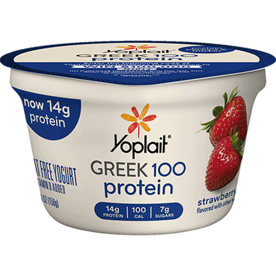 Yoplait® Greek 100 Protein Strawberry Yogurt