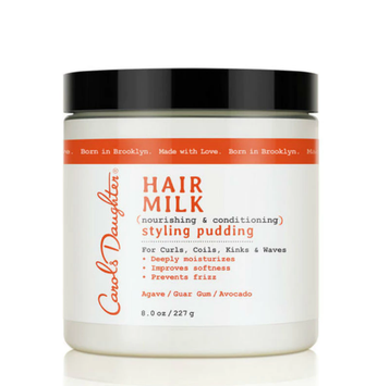Carol's Daughter Hair Milk Nourishing & Conditioning Styling Pudding For Curls Coils Kinks & Waves