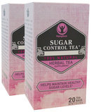 Piping Rock Sugar Control Herb Tea w/ Mulberry Leaf 2 Boxes x 20 Tea Bags