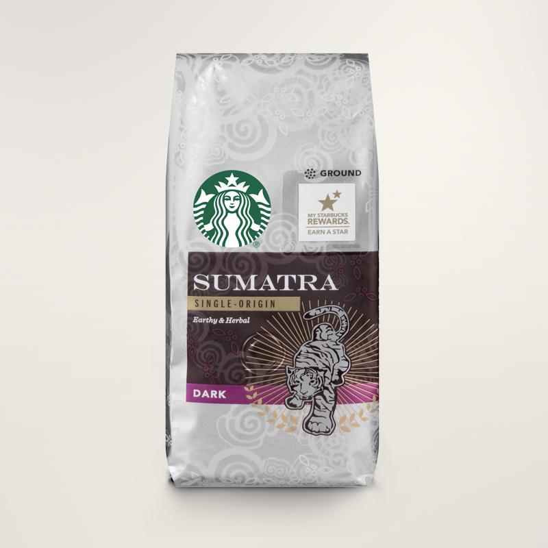 STARBUCKS® Sumatra Earthy & Herbal Ground