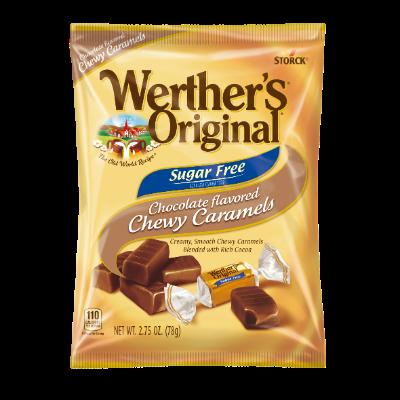 Werther's Original Chocolate Chewy Caramels Sugar Free