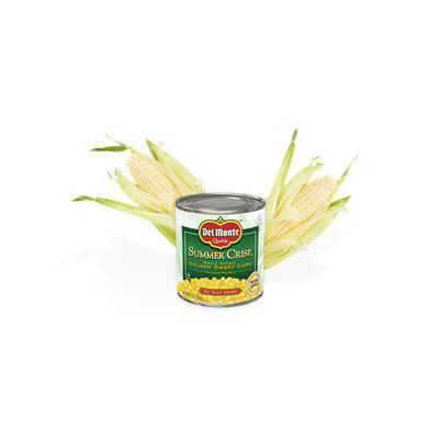 Del Monte® Summer Crisp® Whole Kernel Corn - No Salt Added