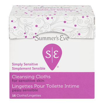 Summer's Eve Feminine Cleansing Cloths, Simply Sensitive