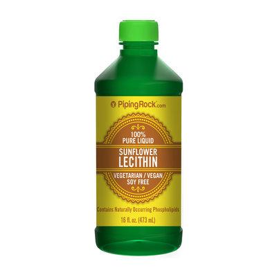 Piping Rock Sunflower Liquid Lecithin 16 fl oz