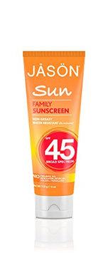 JĀSÖN Family Sunscreen Broad Spectrum SPF45