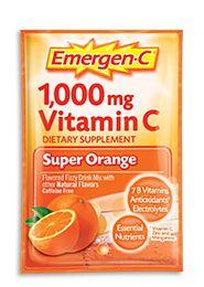 Emergen-C 1,000 mg Vitamin C Super Orange