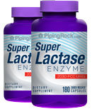 Piping Rock Lactase Enzyme Dairy Digest 2 Bottles x 180 Capsules