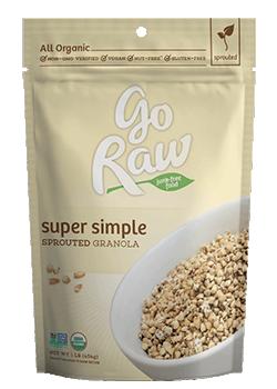 Go Raw super Simple Granola