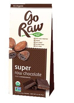 Go Raw Super Raw Chocolate