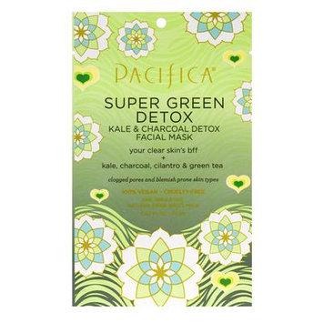 Pacific Super Green Detox Kale & Charcoal Detox Facial Mask