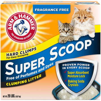 ARM & HAMMER™ Super Scoop™ Clumping Litter Fragrance Free