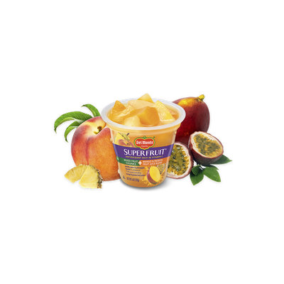 Del Monte® SuperFruit  Mixed Fruit Chunks in Mango & Passion Fruit Juice Blend