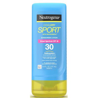 Neutrogena® CoolDry Sport Sunscreen Lotion Broad Spectrum SPF 30
