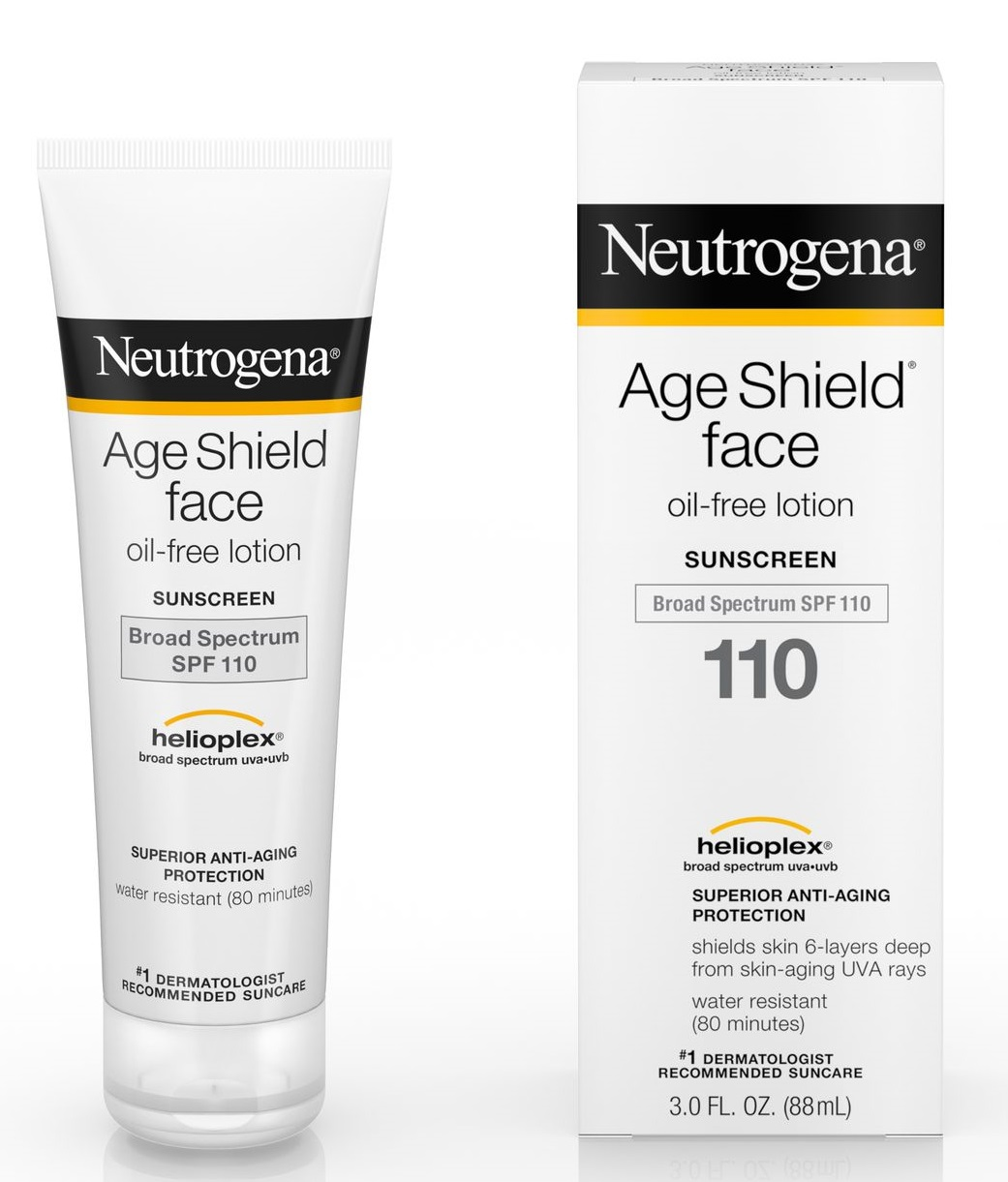 Neutrogena® Age Shield® Face Oil-Free Lotion Sunscreen Broad Spectrum SPF 110