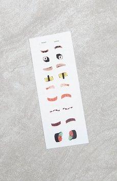 Akiko Nails Sushi Nail Decal