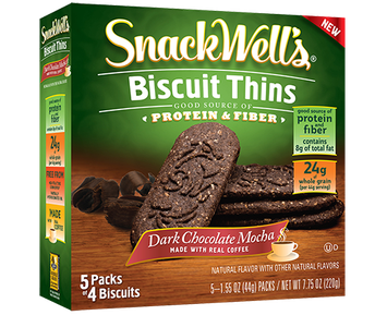 SnackWell's Dark Chocolate Mocha Biscuit Thins