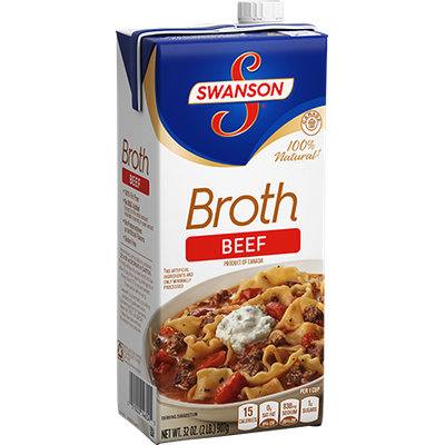Campbell's Swanson Soup Company  Beef Broth