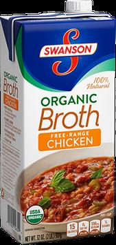 Campbell's Swanson Organic Chicken Broth