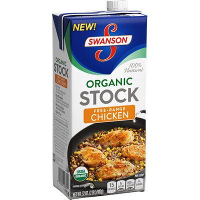 Campbell's Swanson® Organic Free-Range Chicken Stock