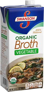 Swanson Organic Vegetable Broth