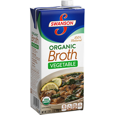 Campbell's Swanson Organic Vegetable Broth