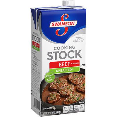 Campbell's Swanson Unsalted Beef Cooking Stock