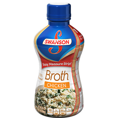 Campbell's Swanson® 100% Chicken Broth Plastic Bottle