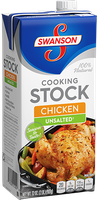 Campbell's Swanson Unsalted Cooking Stock Chicken