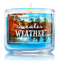 Bath & Body Works® Sweater Weather 1-Wick Mini Candle