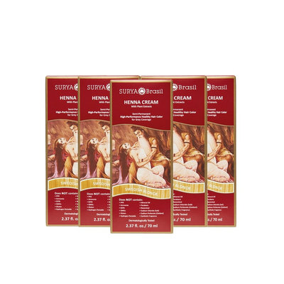 Surya Brasil Henna Cream Semi-Permanent Hair Color