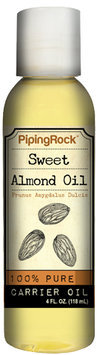 Piping Rock Sweet Almond Oil 4 fl oz Oil