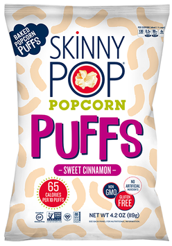 SkinnyPop® Sweet Cinnamon Popcorn Puffs