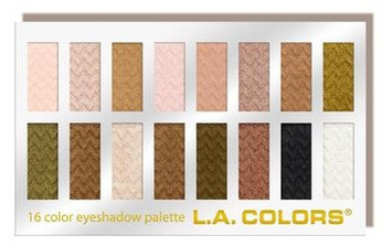 L.A. Colors 16 Color Eyeshadow Palette
