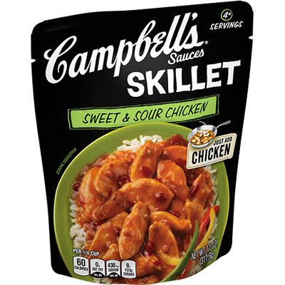 Campbell's® Sweet and Sour Chicken Skillet Sauce