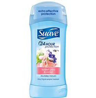 Suave® Sweet Pea & Violet Invisible Solid