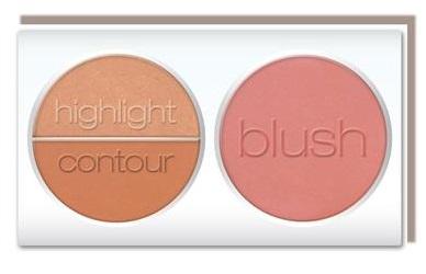 L.A. Colors 3D Blush Contour Palette