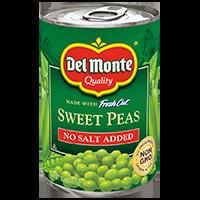Del Monte® Fresh Cut Peas No Salt Added