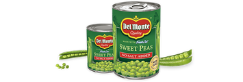 Del Monte® Sweet Peas - No Salt Added