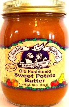 Amish Wedding Old Fashion Butter Sweet Potato Jar