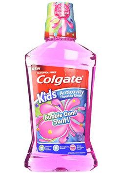 Colgate® Kids Bubble Gum Swirl Anticavity Fluoride Rinse