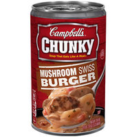 Campbell's®Chunky Soup Mushroom Swiss Burger