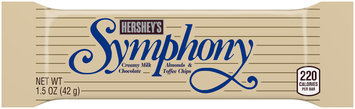 Hershey's Symphony Milk Chocolate with Almonds and Toffee