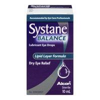 Systane Balance Lubricant Eye Drops, Lipid Layer Formula, 10 mL