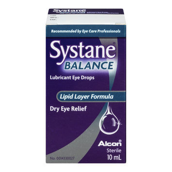 Systane Balance Lubricant Eye Drops, Lipid Layer Formula, 10 mL