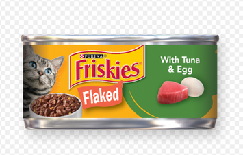 Friskies® With Tuna & Egg in Sauce Flaked Cat Food