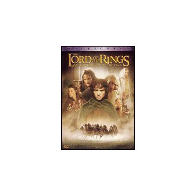Lord of the Rings: The Fellowship of Ring (DVD)