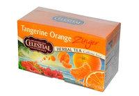 Celestial Seasonings® Tangerine Orange Zinger Herbal Tea Caffeine Free