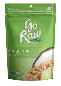 Go Raw Lime in the Coconut Coconut Crisps