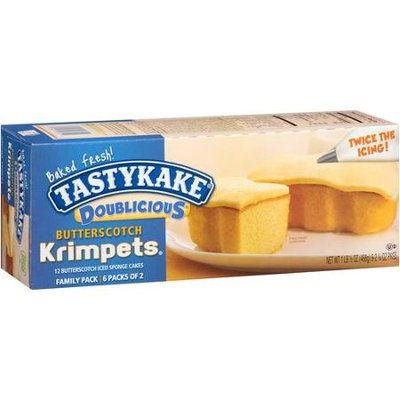 Tastykake® Doublicious: Butterscotch Krimpets®